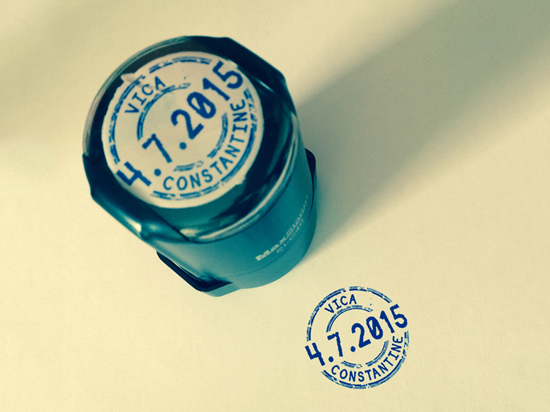 Customized stamp for your event